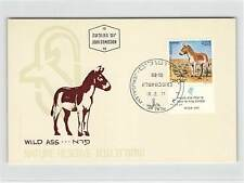 ISRAEL MK 1971 WILD-ESEL WILD ASS MOKE DONKEY CARTE MAXIMUM CARD MC CM d9846