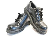 Men's Skechers Tom Cats Shoes Size 10 Black SN 60101 Leather Lace Up Oxfords 04