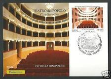 Italia 2017 : Teatro del Popolo di Castelfiorentino - Cart. Fil. Uff. Poste It.