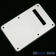 NEW - PARCHMENT 3-Ply Back Plate Tremolo Cover for Fender® Stratocaster® Strat