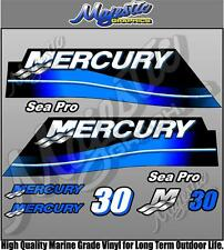 MERCURY - 30hp SEAPRO - OUTBOARD DECALS
