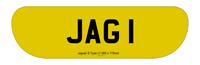 JAGUAR S TYPE V1  REAR SHAPED NUMBER PLATES 585 X 175MM HAND MADE ROAD  LEGAL