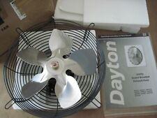 Dayton 10 Guard Mounted Exhaust Fan 484x52 115v