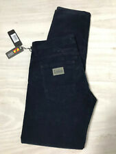Lois Corduroy Jeans, Cords, Serria, Black, 30/32, Tapered Leg New with Tags