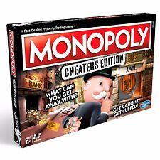 NEW & SEALED Monopoly Cheaters Edition Board Game