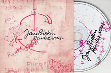 CD CARTONNE CARDSLEEVE COLLECTOR 14T JANE BIRKIN RENDEZ VOUS DAHO/HARDY/MIOSSEC