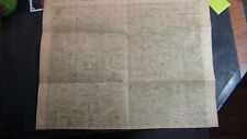 Korea war map of Sinhung-Ni 5th edition-ams(fec) date? , calcs on back