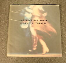 THE GRIGOROVICH BALLET OF THE BOLSHOI THEATRE H/B 1992 D/W UK Postage £3.25