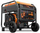 WEN GN875i 8750-Watt 120V/240V Electric Start Open Frame Inverter Generator