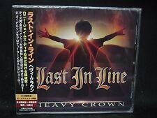 LAST IN LINE Heavy Crown +1 JAPAN CD Dio Black Sabbath Def Leppard Sweet Savage
