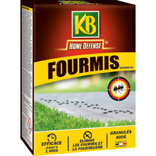Kb -Anti Fourmis Poudrage arrosage - Lot de 3 boites de 400g