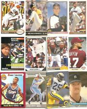 Huge Lot (100) Different 1991 University of Texas Longhorns Alumni Cards Clemens