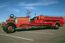 780062 1930 AHRENS FOX Front End POMPA FIRE ENGINE A4 FOTO STAMPA