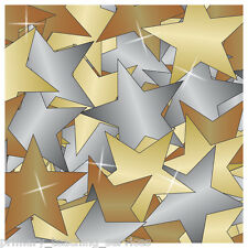 CP32 4200 Gold Silver & Bronze Metallic Star Stickers Primary Teaching Services