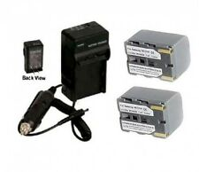 2 Batteries + Charger for Samsung SC-D75 SC-D77 SC-D80 SC-D86 SC-D87 SC-D903