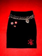 ZARA ROCK PENCILSKIRT STIEFEL ROCK  RoCKaBilly BoHo ROMANTIK S 34 36 NEU TOP!!!