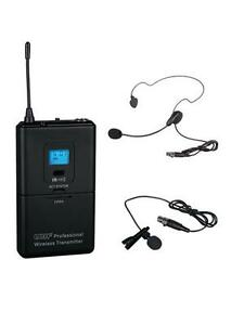 GTD Audio Transmitter with Lapel Mic 100 Channels For G-622 system