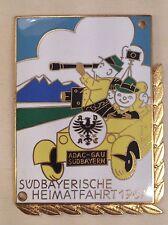 PLACCA ADAC Gau Sud Baviera viaggio patria 1967