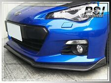 Subar STI Look Carbon Fiber Front Bumper Add-On Lip for 2012 2013 2014 BRZ Coupe
