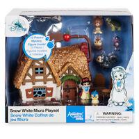 Disney Store Snow White Mini Micro Animators Doll 13 Piece Toy Playset
