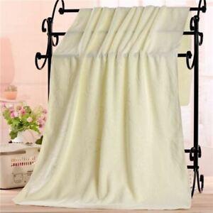 1 Pc Microfiber Absorbent Bath Towel Soft Shower Soft Quick-drying Washcloth