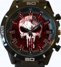 Gothic Punisher Skull New Gt Series Sports Wrist Watch FAST UK SELLER