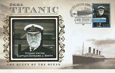 2012 RMS TITANTIC CENTENARY VICTIM - CAPTAIN EDWARD J SMITH BENHAM COVER