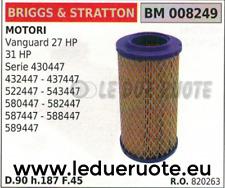 Filtro aria motore Briggs/&Stratton Twin Vanguard 015884