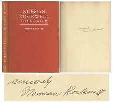 Norman Rockwell Signed 1946 Hardbound Illustrator Book