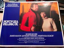 North Sea Hijack(Ffolks} 1979 Universal lobby card Roger Moore Lea Brodie