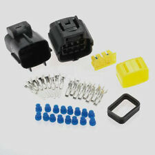 Sealed Electrical Wire 1 Kits 8 Pin Way Connector Plug Automotive Accesories Set