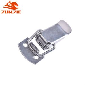 10Pcs Cabinet Box Spring Loaded Hasp Chest Catch Small Toggle Latch
