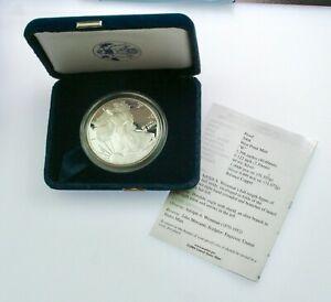 2004 W Proof Silver eagle- Original US MInt Package BU .999 fine bullion
