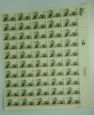 1973 Rise of the Spirit of Independence 8 Cent Sheet of 50 Mint