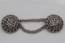 Grandes plata Antik cadenas botones de metal ojales botones 1 trozo