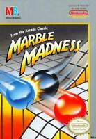 MARBLE MADNESS (  JEUX NINTENDO NES  ) GAME ONLY