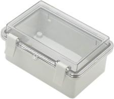 Zulkit Junction Box Abs Plastic Dustproof Waterproof Ip65 Electrical Boxes Hinge