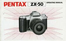 179921 PENTAX ZX-50 GENUINE INSTRUCTION MANUAL