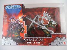 Masters Of the Universe SAMURAI Battle CAT IN SCATOLA ORIGINALE NRFB Mattel (845)