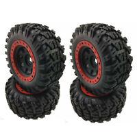 4pcs Big Wheel Tires For 1/7 Traxxas Unlimited Desert Racer UDR RC Crawler Car