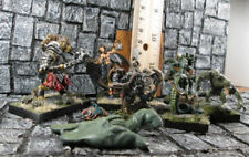 11pc MONSTER LOT #1 Warhammer Ral Partha Confrontation Reaper Female Figs Metal