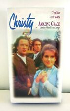 CHRISTY Amazing Grace VHS 1998  Catherine Marshall Video Faith Courage NEW MOVIE