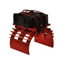 RC EP Electric 1/10 Car 540 Motor Upgrade Alloy Heat Sink With Fan Heatsink Red