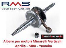 """0011 - ALBERO MOTORE TIPO ORIGINALE + GABBIA """"RMS"""" per MBK Booster 50 2T"""