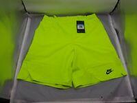 Nike Challenge Court Shorts Agassi Neon Volt (DB4617-363) - Size Medium - NWT