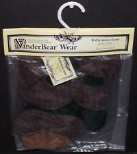 "FUZZY VANDERBEAR A CHRISTMAS CAROL ""BEARLY IN TUNE"" OUTFIT 5549"