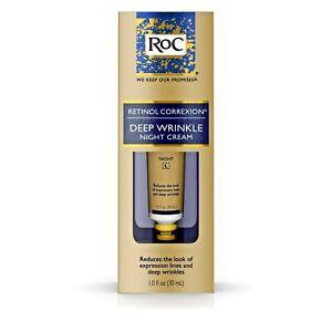 RoC Retinol Correxion Deep Wrinkle Night Cream 1 oz 33 ml