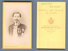 Francisco Rojo e Hijo, Malaga. Portrait de Gaetan Patriot, Consul de France à Mi