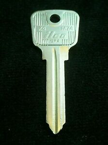 MZ4 MAZDA KEY Blank (1 of 2 Poss.) Rotary Pick-Ups 1974-81, Ford Courier 1974-81