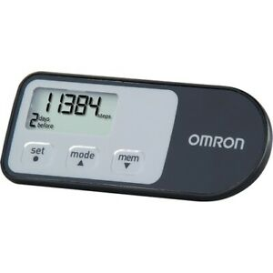 NEW HJ-321 Alvita Optimized Pedometer With Four Activity Modes Hip Holder Omron
